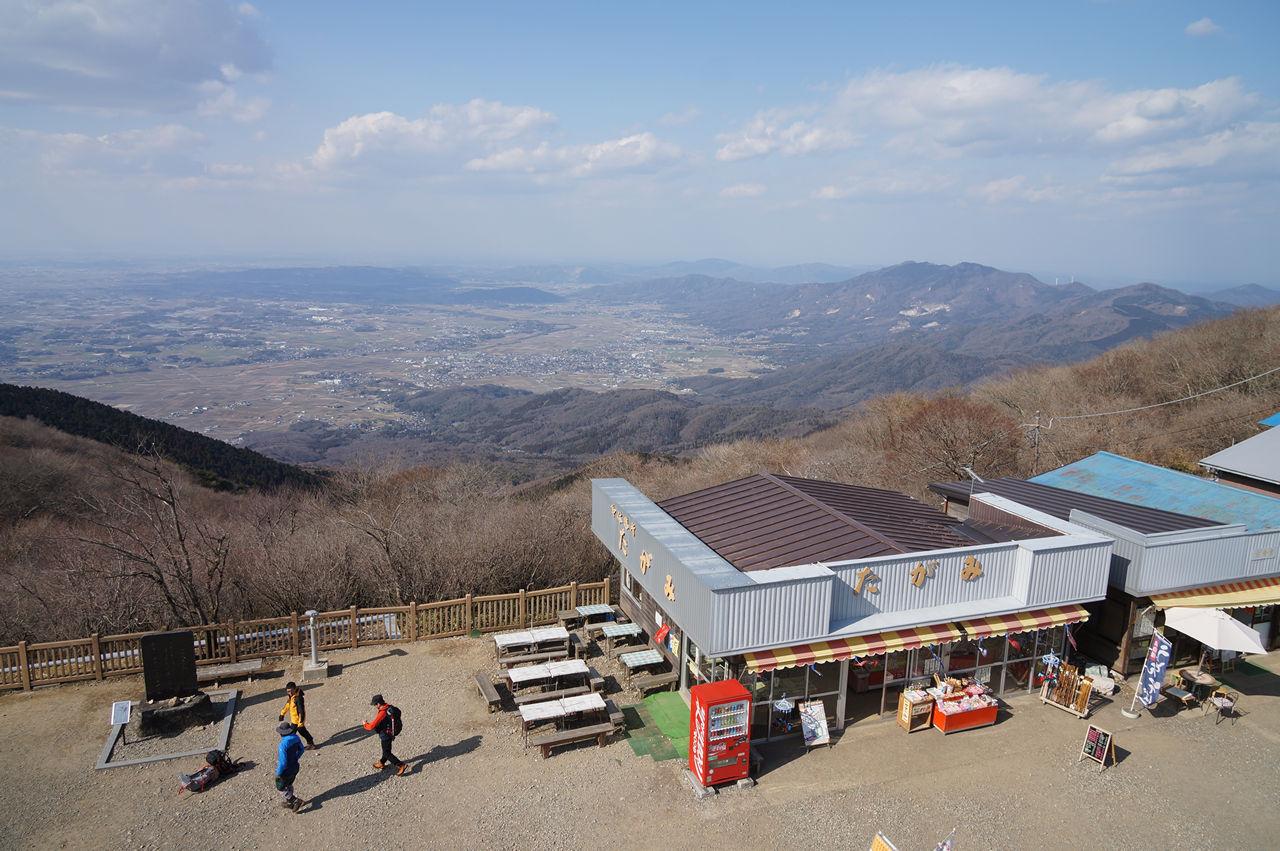 筑波山山頂眺め