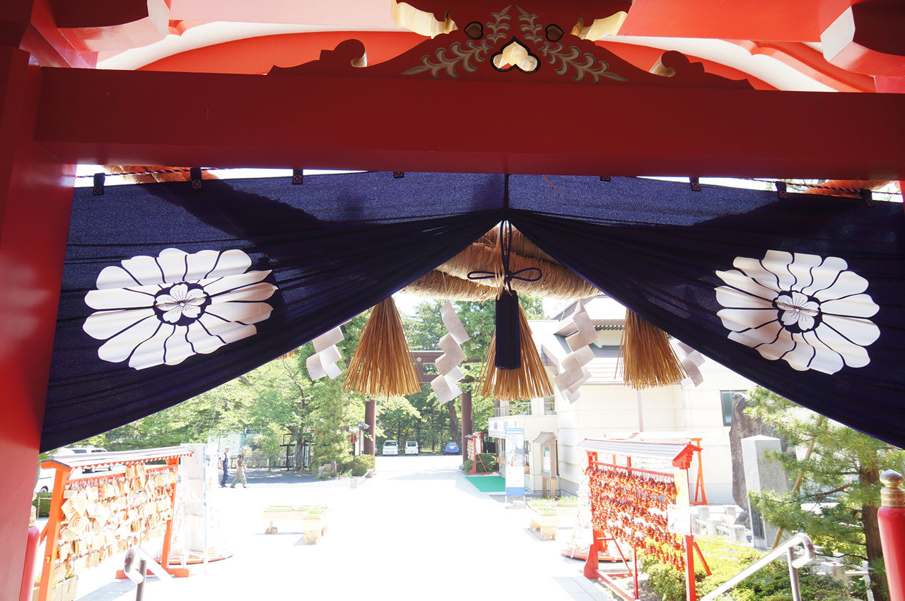 仙台城(青葉城跡) 護国神社