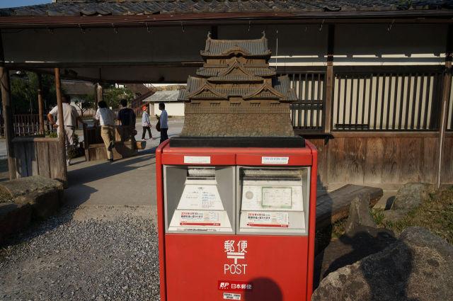 彦根城ポスト