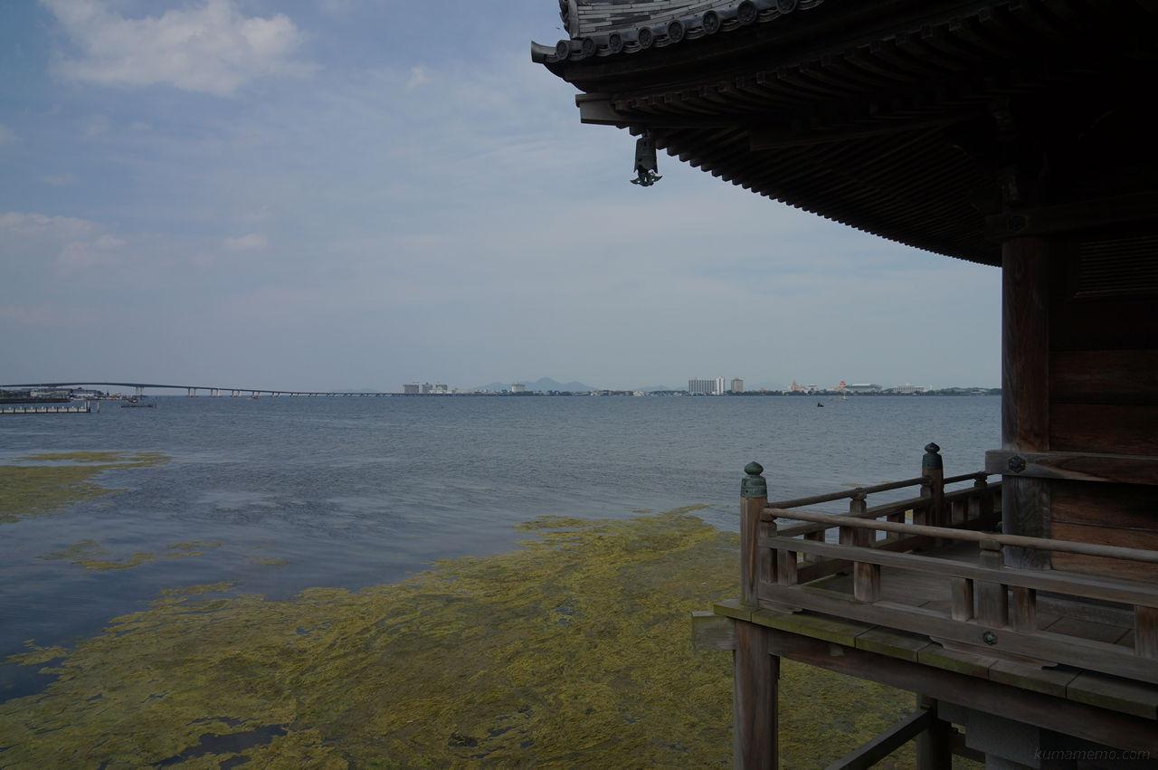 浮御堂琵琶湖大橋